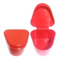 ظرف نگهداری (جای دست دندان) و شستشوی دندان مصنوعی لوبر LUBER