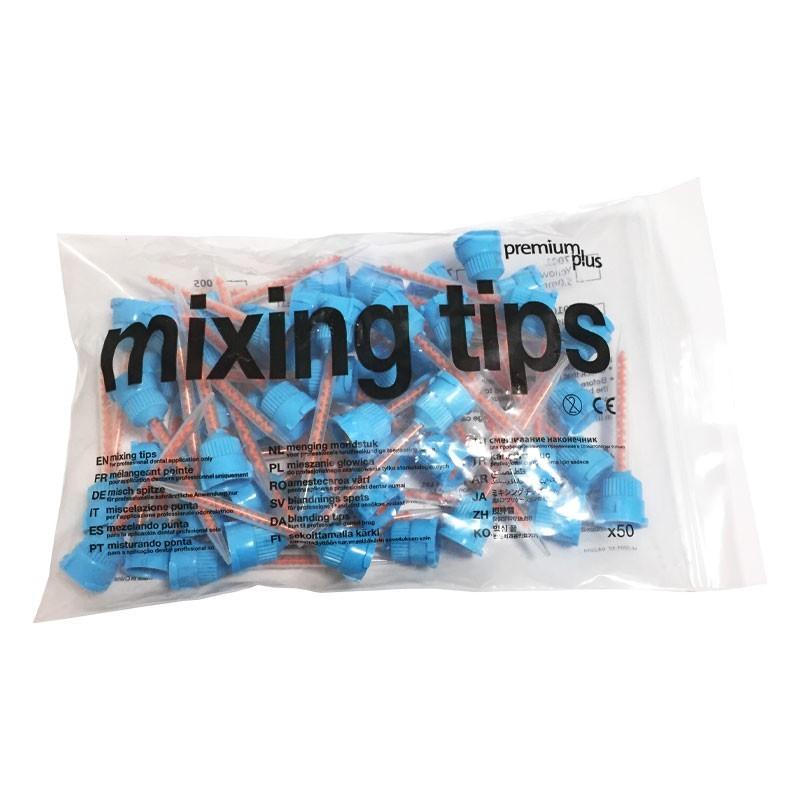 سری میکسر روکش موقت (آبی نارنجی) میکسینگ تیپ Mixing tips