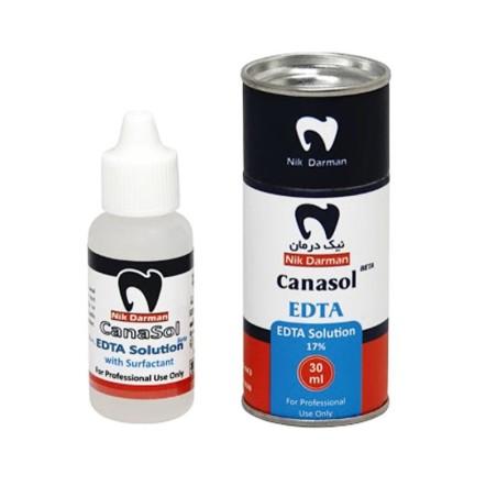 محلول شستشو کانال EDTA 17% ای دی تی ای نیک درمان آسیا