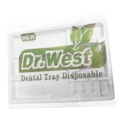 سینی یکبار مصرف دندانپزشکی دکتر وست Dr West Disposable Tray