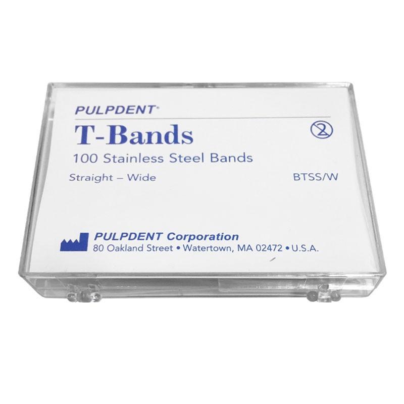 نوار ماتریس پالپ دنت Pulpdent مدل T_Bands