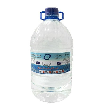 آب مقطر( دیونیزه ) آویسا شیمی طب AVISA