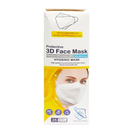 ماسک 3D چهار لایه face mask