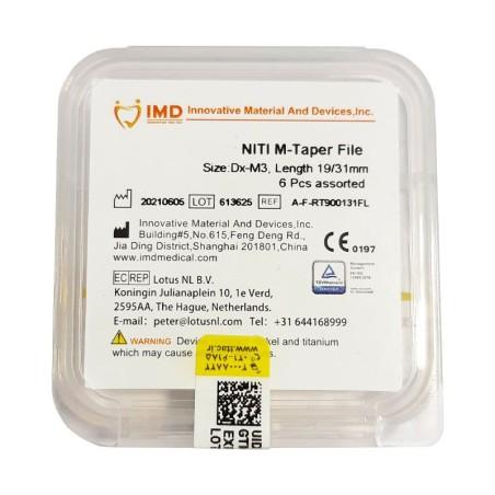 فایل روتاری ام تیپر 31mm MTAPER (سیستم پروتیپر) شرکت IMD