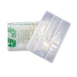 سینی یکبار مصرف زلال طب شیمی zolal teb shimi