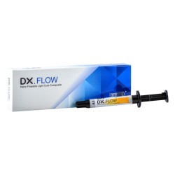 کامپوزیت فلو نانو هیبرید دنتکس رنگ flow composite DENTEX A2